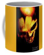 Morbid Decaying Skull Coffee Mug