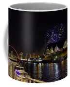 More Fireworks At Newcastle Quayside On New Year's Eve Coffee Mug