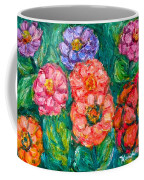 More Zinnias Coffee Mug