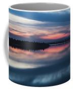 Morii Lake At Sunset Coffee Mug