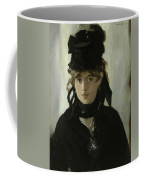 Morisot With A Bouquet Of Violets Coffee Mug