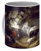 Morland: Farmyard, 1792 Coffee Mug