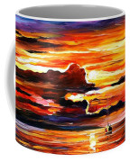 Morning After The Storm - Palette Knife Oil Painting On Canvas By Leonid Afremov Coffee Mug