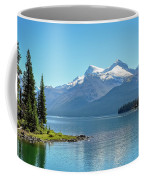 Morning At Lake Maligne, Canada Coffee Mug