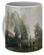 Morning At Ville Davray Coffee Mug by Jean Baptiste Camille Corot