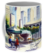 Morning, Bryant Park  Coffee Mug