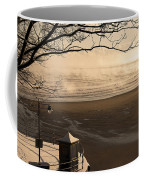 Morning Filey Beach Coffee Mug