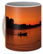 Morning Fishing On The Lake Coffee Mug