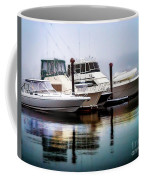 Morning Fog At Boothbay Coffee Mug