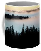 Morning Fog In Northern Saskatchewan Coffee Mug