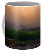 Morning Fog In Olympic National Park Coffee Mug