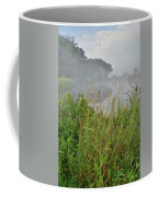 Morning Fog On Glacial Park Pond Coffee Mug