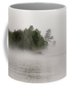 Morning Fog On Lake Superior Coffee Mug