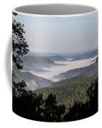 Morning Fog On Pine Mountain Coffee Mug