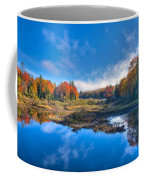 Morning Fog On The Moose River Coffee Mug