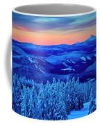Morning From Timberline Lodge Coffee Mug