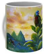Morning Glory - St. Lucia Parrots Coffee Mug