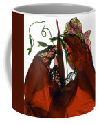 Morning Glory Canna Red Coffee Mug
