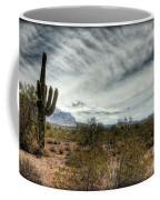 Morning In The Desert Coffee Mug