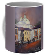 Morning In The Plaza- Quito, Ecuador Coffee Mug