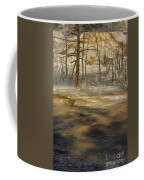 Morning Light On  Mammoth Terrace Coffee Mug