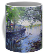 Morning Light By The River Coffee Mug