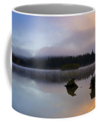 Morning Mist Burning Coffee Mug by Mike  Dawson