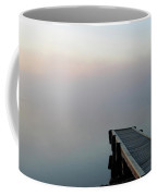 Morning Mist On Lynx Lake Saskatchewan Coffee Mug