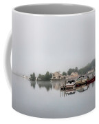 Morning Mist On The Lake Coffee Mug