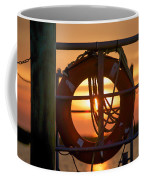 Morning On Deck  Coffee Mug