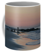Morning On The Beach At Cape May Coffee Mug