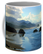 Morning On The Oregon Coast Coffee Mug