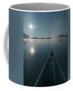 Morning Paddle On The Mississippi Coffee Mug