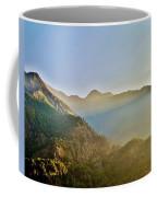 Morning Shadows In The Himalayas Coffee Mug