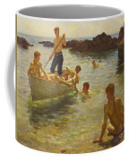 Morning Splendour Coffee Mug by Henry Scott Tuke
