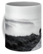 Morning Walk With Sea Mist Coffee Mug
