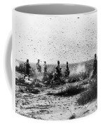 Morocco: Locusts, 1954 Coffee Mug