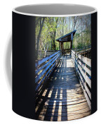 Morris Bridge Boardwalk Coffee Mug
