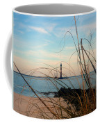 Morris Island Lighthouse In Charleston Sc Coffee Mug