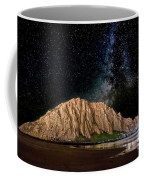 Morro Rock After Dark Coffee Mug by Beth Sargent