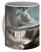 Morse: Niagara Falls, 1835 Coffee Mug