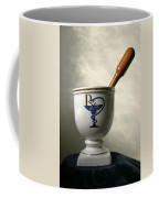 Mortar And Pestle Coffee Mug by Kristin Elmquist