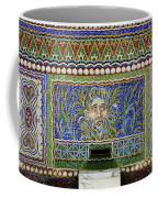 Mosaic Fountain At Getty Villa 3 Coffee Mug