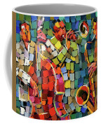 Mosaic Jazz Coffee Mug