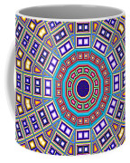 Mosaic Kaleidoscope  Coffee Mug