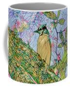 Mosaic Of Blue Jay Coffee Mug