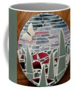 Mosaic Sailboats Coffee Mug