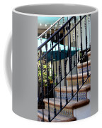 Mosaic Tile Staircase In La Quinta California Art District Coffee Mug