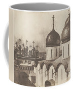 Moscow, Domes Of Churches In The Kremlin Coffee Mug