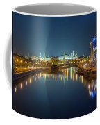 Moscow Kremlin At Night Coffee Mug by Alexey Kljatov